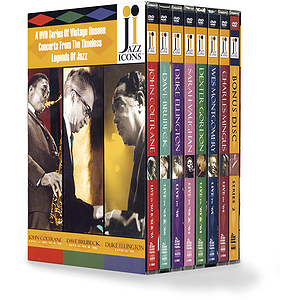 Jazz Icons 2 Boxed Set (DVD)