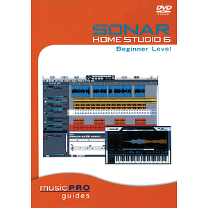 SONAR Home Studio 6 Beginner Level (DVD)