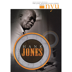 Hank Jones - The Jazz Master Class Series from NYU (DVD)
