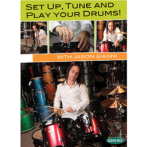 Set Up, Tune and Play Your Drums! (DVD)