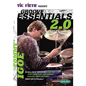 Vic Firth Presents Groove Essentials 2.0 with Tommy Igoe (DVD)
