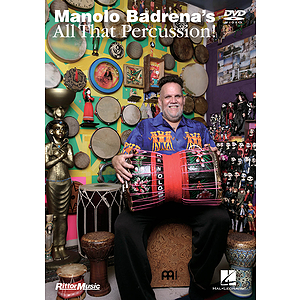 Manolo Badrena's All That Percussion (DVD)