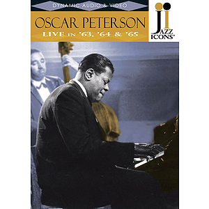 Oscar Peterson -¦Live in '63, '64 & '65 (DVD)