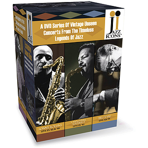 Jazz Icons 3 Boxed Set (DVD)