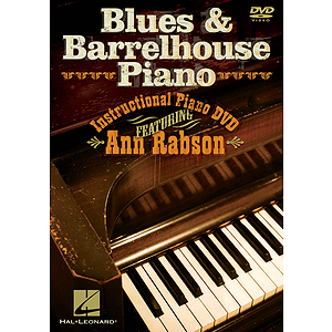 Blues & Barrelhouse Piano (DVD)