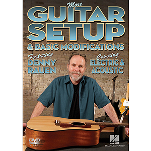 More Guitar Setup & Basic Modifications (DVD)