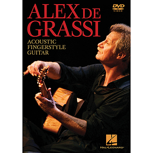 Alex de Grassi - Acoustic Fingerstyle Guitar (DVD)