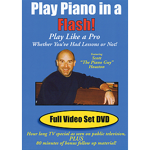 Play Piano in a Flash! (DVD)