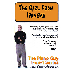 The Piano Guy 1-on-1 Series - The Girl from Ipanema (DVD)