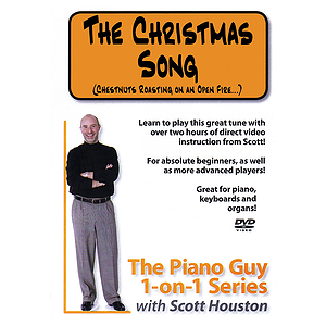 The Piano Guy 1-on-1 Series - The Christmas Song (DVD)