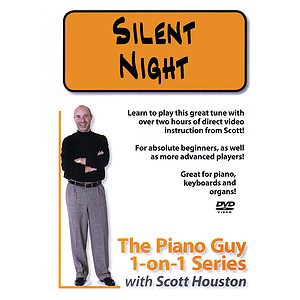 The Piano Guy 1-on-1 Series - Silent Night (DVD)