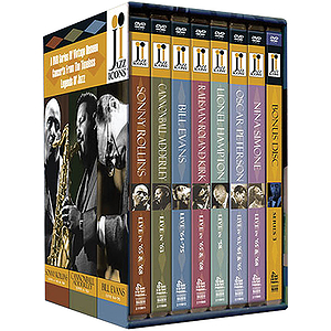 Jazz Icons 4 Boxed Set (DVD)