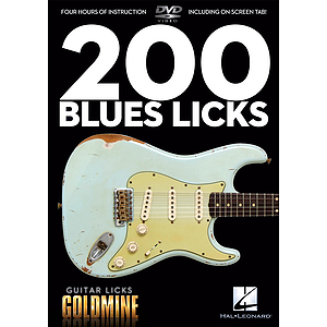 200 Blues Licks (DVD)