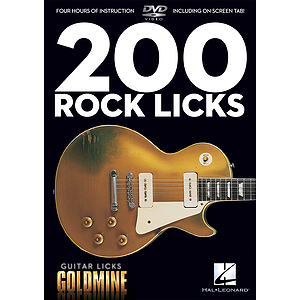 200 Rock Licks (DVD)