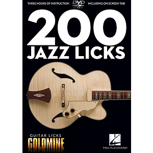 200 Jazz Licks (DVD)