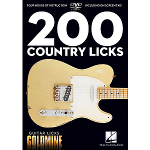 200 Country Licks (DVD)