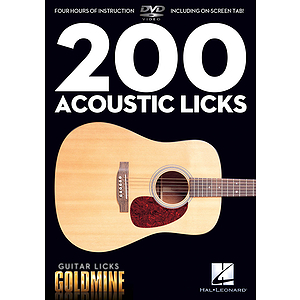 200 Acoustic Licks (DVD)
