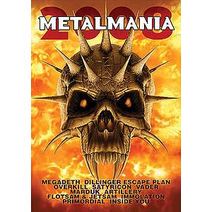 Metalmania 2008 (DVD)