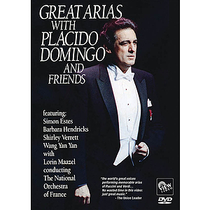 Great Arias with Placido Domingo and Friends (DVD)