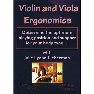 Violin and Viola Ergonomics (DVD)