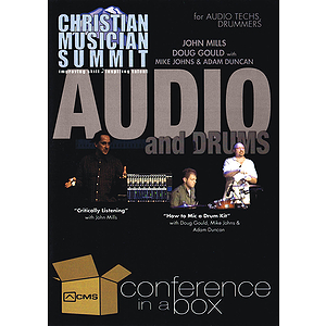 Audio and Drums - Christian Musician Summit (DVD)