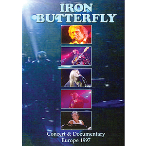 Iron Butterfly -Concert and Documentary: Europe 1997 (DVD)