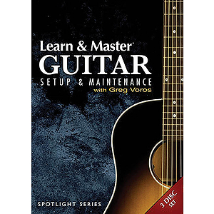 Learn & Master Guitar Setup and Maintenance (DVD)
