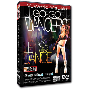 VJ World Visuals - Go-Go Dancers (DVD)