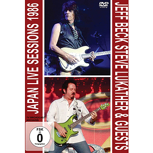 Jeff Beck &amp; Steve Lukather -Japan Live Session 1986 (DVD)