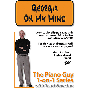 The Piano Guy 1-on-1 Series - Georgia on My Mind (DVD)