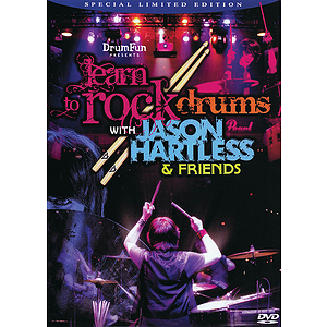 Learn to Rock Drums with Jason Hartless & Friends (DVD)