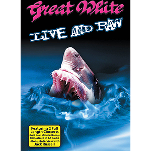 Great White - Live and Raw (DVD)