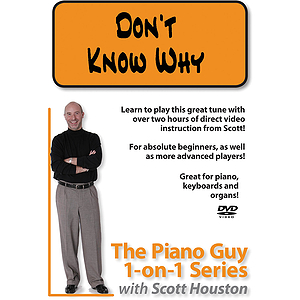 The Piano Guy 1-on-1 Series - Don't Know Why (DVD)