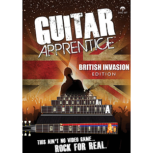 Guitar Apprentice - British Invasion (DVD)