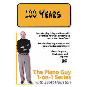 The Piano Guy 1-on-1 Series - 100 Years (DVD)