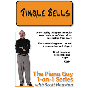 The Piano Guy 1-On-1 Series - Jingle Bells (DVD)