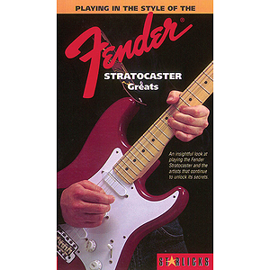 Playing in the Style of The Fender Stratocaster Greats (VHS)