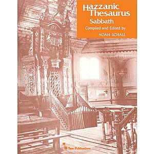 Hazzanic Thesaurus Sabbath