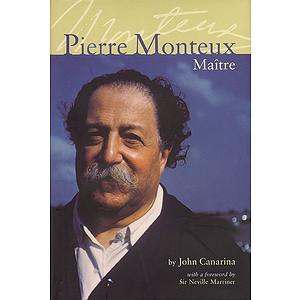 Pierre Monteux, Maître