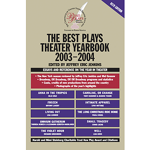 The Best Plays Theater Yearbook 2003-2004
