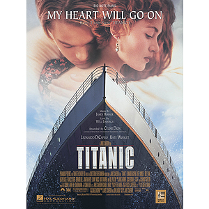 My Heart Will Go On Big Note Titanic