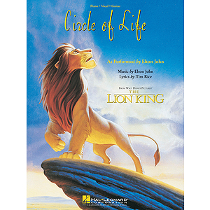 Circle Of Life - Poster Sheet Music - From The Lion King