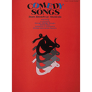Comedy Songs from Broadway Musicals
