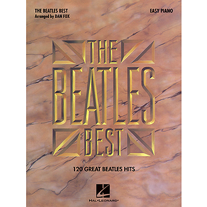Beatles Best for Easy Piano