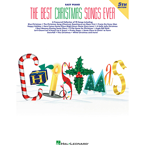 The Best Christmas Songs Ever - 4th Edition (Easy Piano)