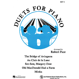Duets For Piano I Blue (Book I)