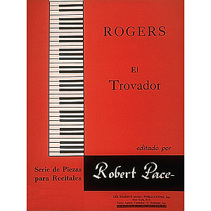 El Trovador Serie De Piezas Para Recitales Red (Sheet Music in Spanish)