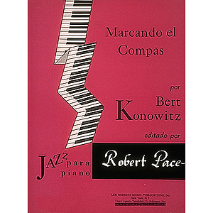 Marcando El Compas Jazz Para Piano (Sheet Music in Spanish)