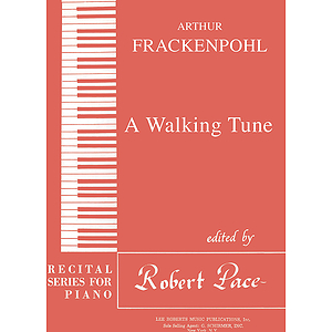 Recital Series For Piano, Red (Book III) A Walking Tune