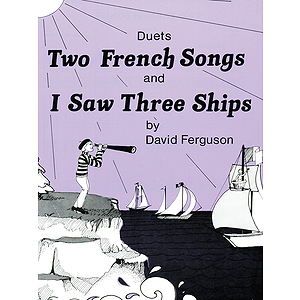 Duets, Yellow (Book II) - Two French Songs & I Saw Three Ships - Pace Duet Piano Educat